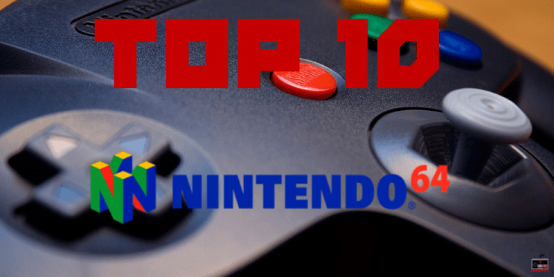 Photo of Top 10 juegos Nintendo 64
