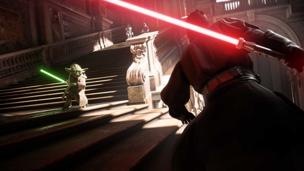 yoda fight star wars