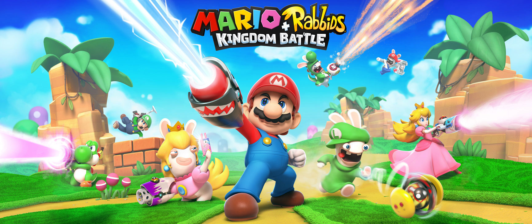 Photo of Mario + Rabbids Kingdom Battle, Nintendo+Ubisoft análisis