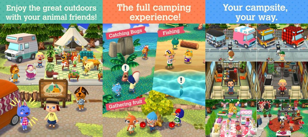 animal crossing features