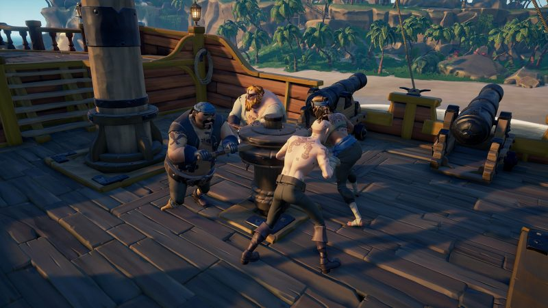 Sea of thieves ancla