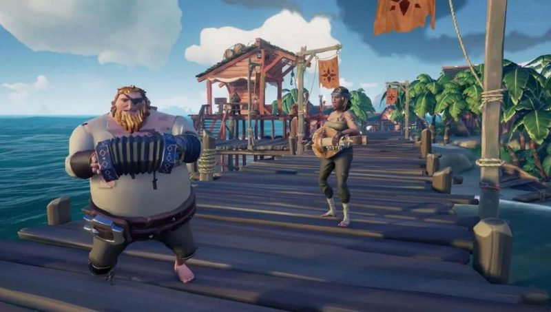 sea of thieves baile