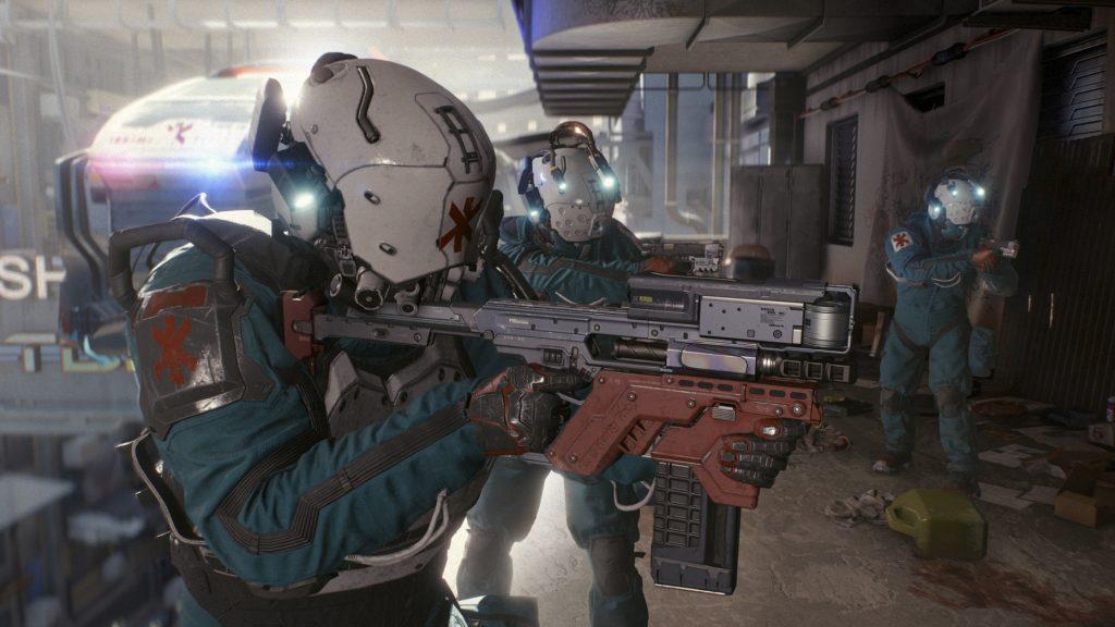 cyberpunk 2077 combate