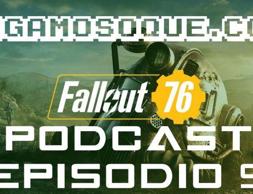 Podcast de videojuegos episodio 9 – ¡FALLOUT 76, BATTLEFIELD 5 Y MÁS!