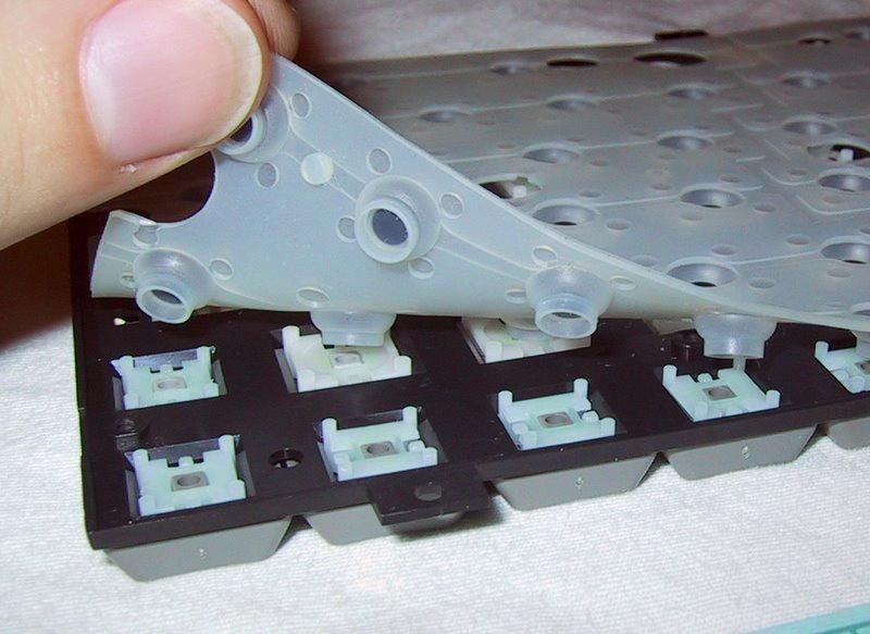 Teclado gaming de membrana