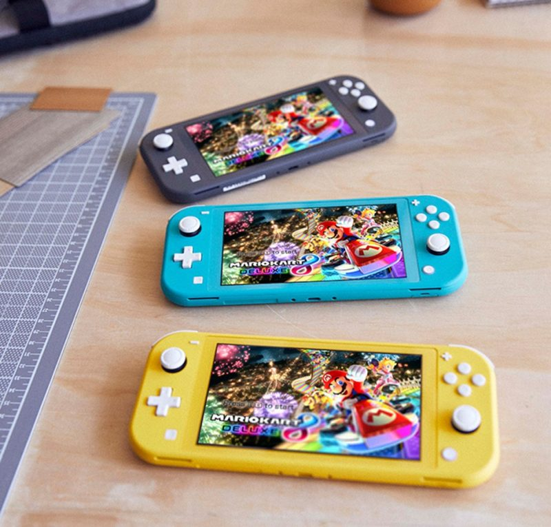 Colores nintendo switch lite