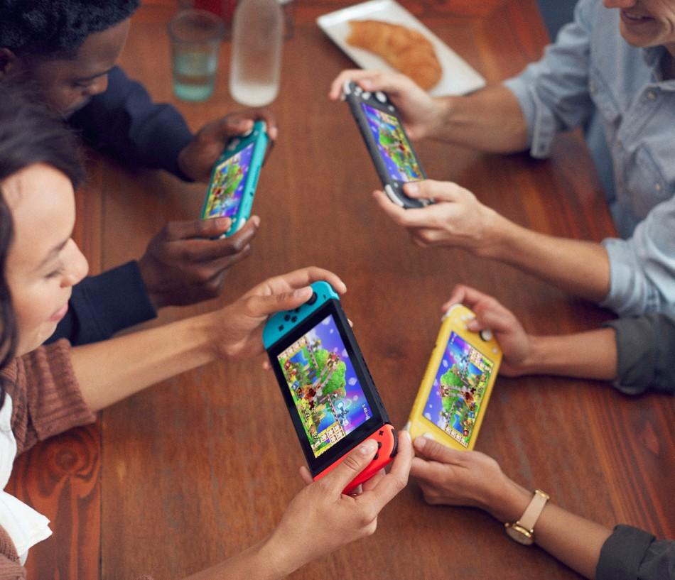 Nintendo switch lite multi