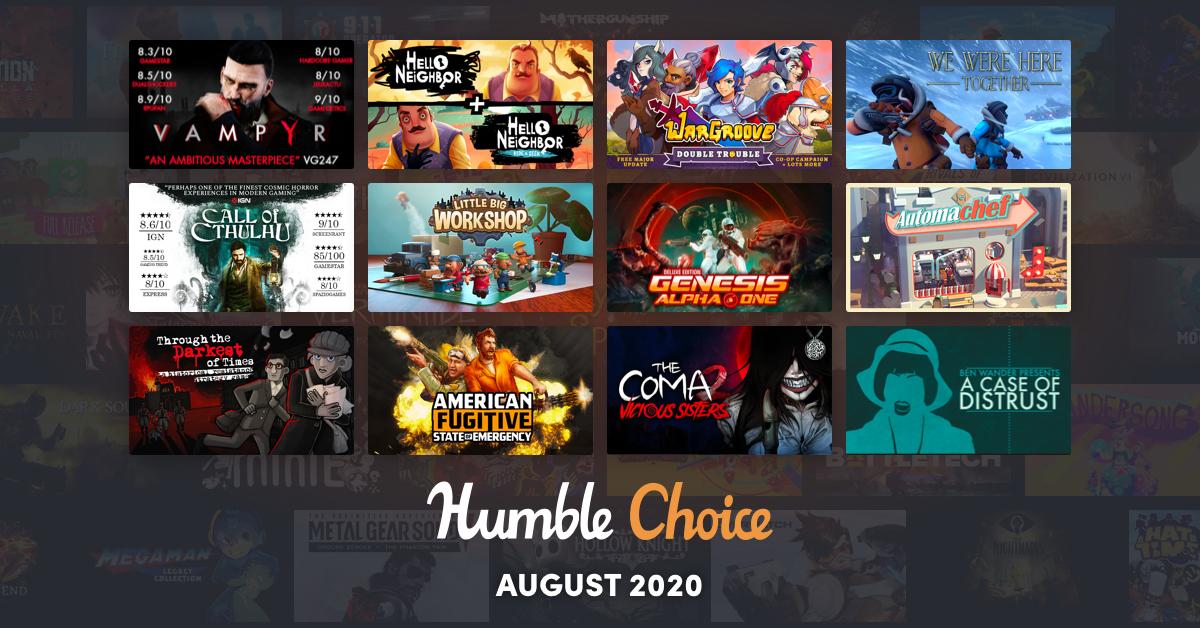 humble agosto 2020