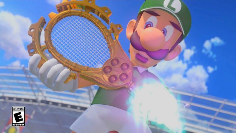 Luigi mario tennis