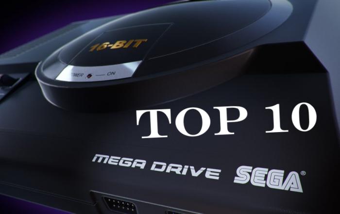 top 10 mega drive