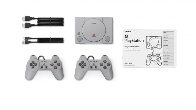 PlayStation Classic incluye
