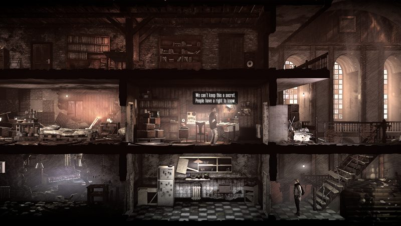 The last broadcast this war of mine